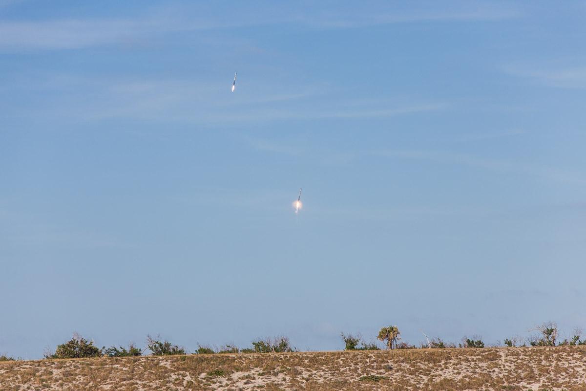 Falcon Heavy recovery