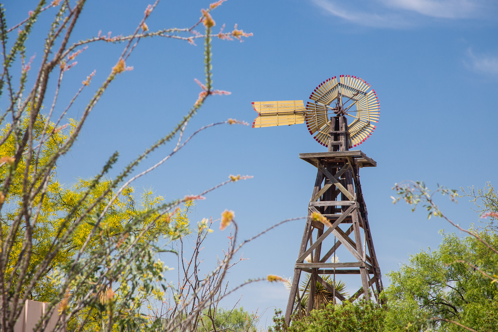 Roy Bean Museum Windmill